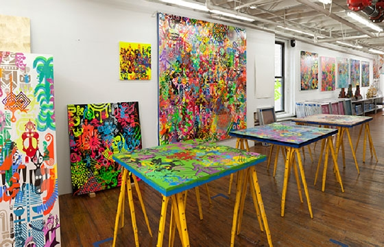 Ryan McGinness: Studio Visit @ Virginia Museum of Fine Arts