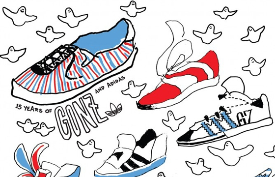 In L.A.: 15 Years of Gonz and Adidas @ HVW8 Art