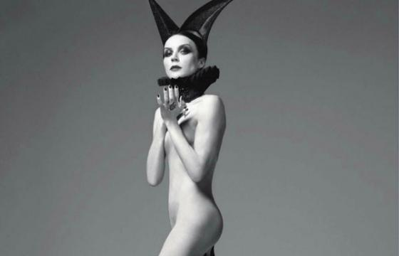 Daphne Guinness for Vogue Italia by Steven Meisel