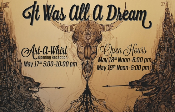 """It Was All A Dream"" @ Abstracted Gallery"