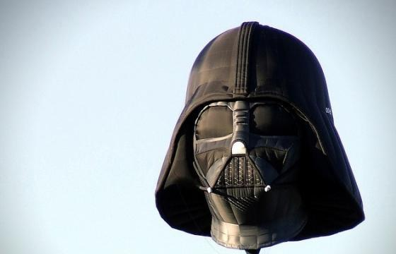 The Darth Vader Hot Air Balloon