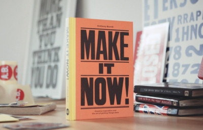 Anthony Burrill's New Book