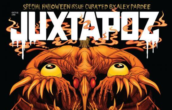Preview: October Halloween issue curated by Alex Pardee featuring Sam Kieth & Nychos