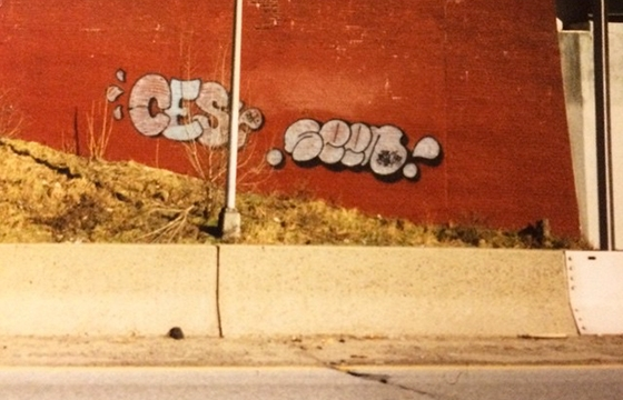 Classic photo of Ces x Seen in the Bronx