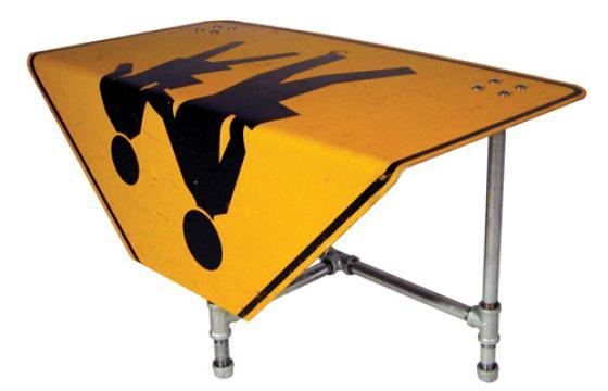 Road Sign Furniture of Tim Delger