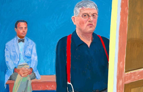 David Hockney: A Bigger Exhibition @ de Young, San Francisco