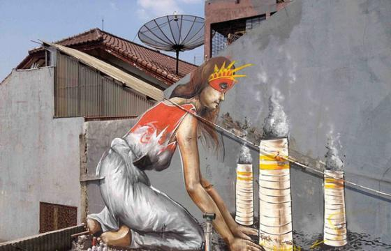 Fintan Magee in Jakarta, Indonesia