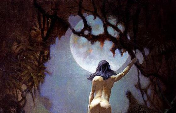 Frank Frazetta: Moon's Rapture