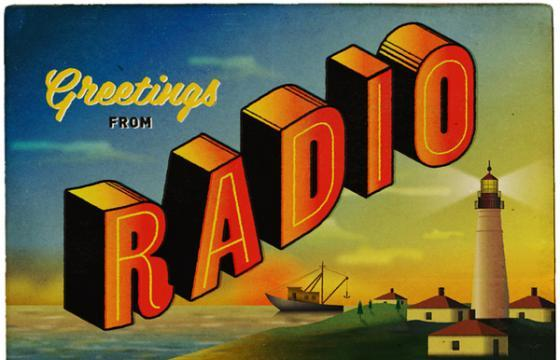 In Illustration: Radio Studio