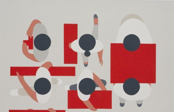 "Preview: Geoff McFetridge ""Floating"" @ Cooper Cole, Toronto"
