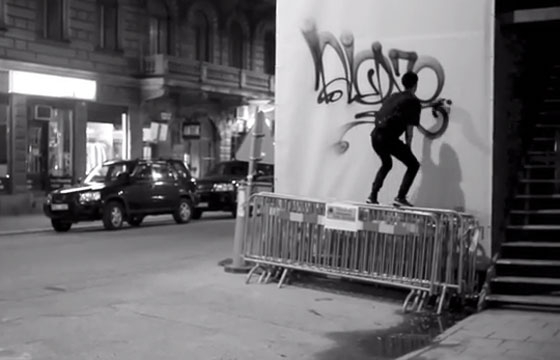 Video: TagsAndThrows - Bombing Alone
