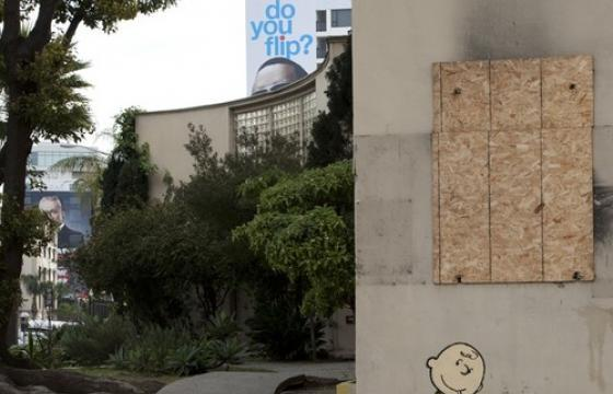New Banksy's in Hollywood (WITH UPDATE)
