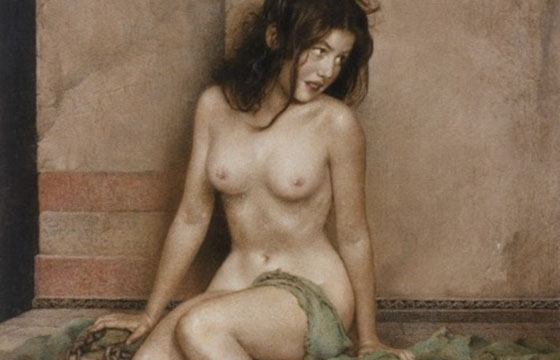 "William Mortenson's ""Slave Girl"""