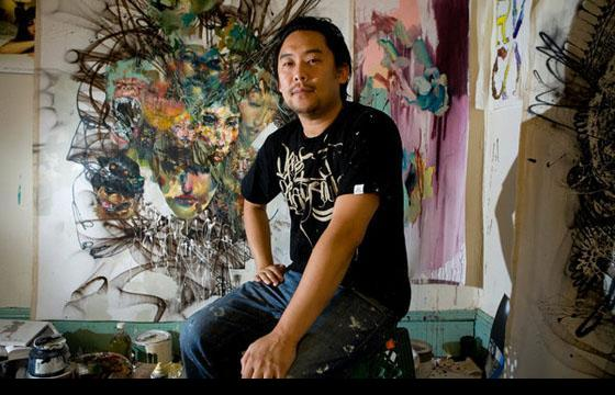 Archive: David Choe @ Facebook, 2005