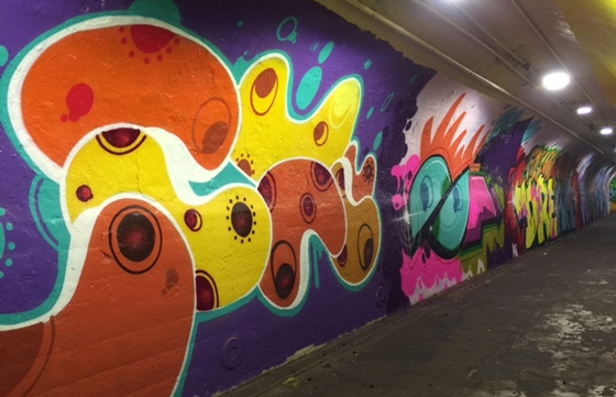 The 191st Street Tunnel Beautification Project