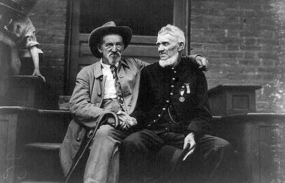 Photographs of the 1913 50th Gettysburg Anniversary