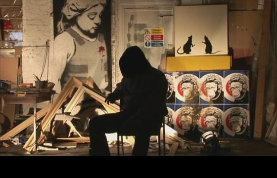 Banksy says his movie is real, nominated for top British film award
