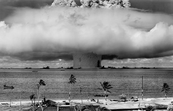Photos of a 1946 Nuclear Test