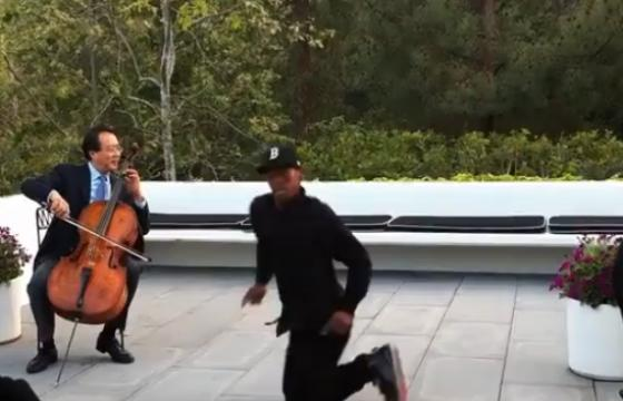 Spike Jonze captures Lil Buck and Yo-Yo Ma in Collaboration
