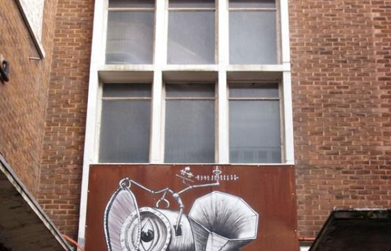 Phlegm paints a great piece of rusted metal