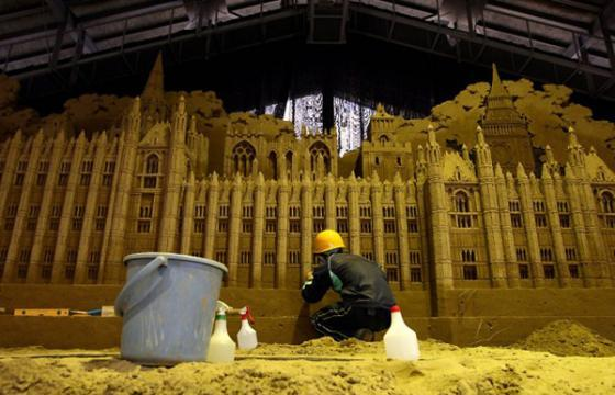 Sand Sculptures Exhibition at Tottori Dune