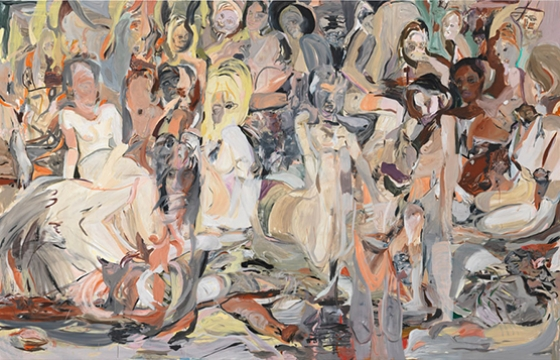 Cecily Brown's Crowds of Flesh