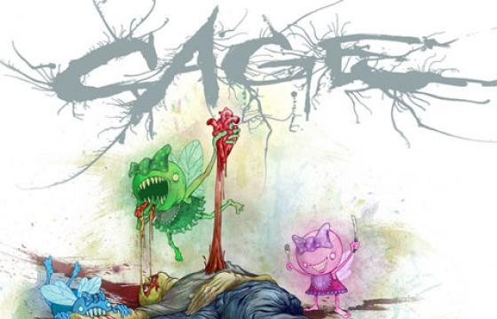 Alex Pardee Leaks His Cover Art Design for New Cage Album