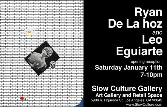 Ryan De La Hoz and Leo Eguiarte at Slow Culture Gallery, LA