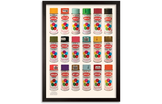 "New Roger Gastman ""Tools of Criminal Mischief"" Print"