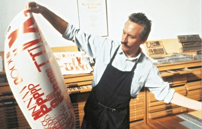 The Future In the Ways Things Were: Alan Kitching's Letterpress Works