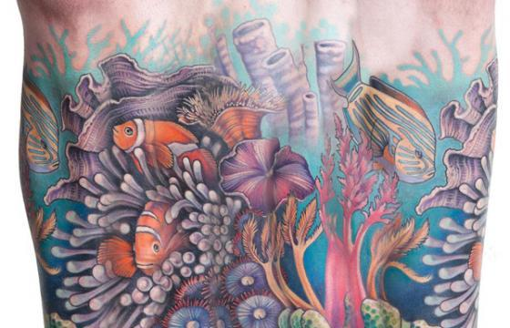 Theresa Sharpe's Large-Scale Tattoos