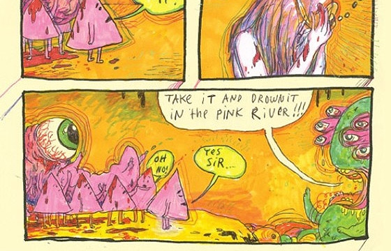 "Interview: Wayne Coyne's Comic, ""The Sun is Sick"""
