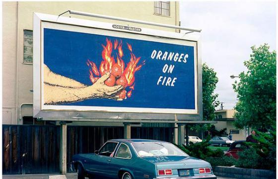 In Street Art: Billboards by Larry Sultan & Mike Mandel