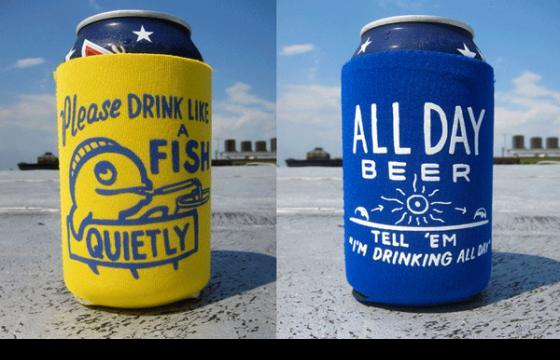 In Street Art: The Steve Powers Beer Cozie Set