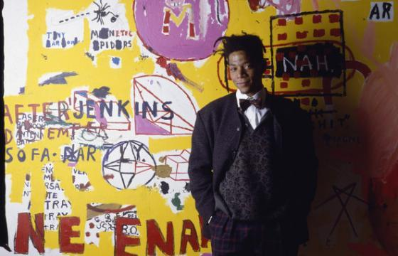 "Basquiat Revisted: Aaron Rose & Sam Spiegel on MOCAtv's ""SAMO©"""