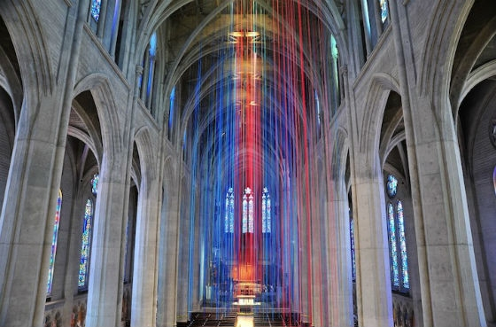 Graced With Light At Grace Cathedral