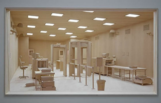 Extraordinary Woodwork By Roxy Paine