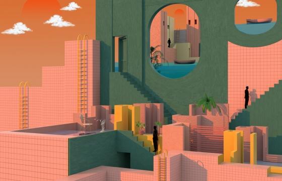 Tishk Barzanji's Complex and Surreal Utopia