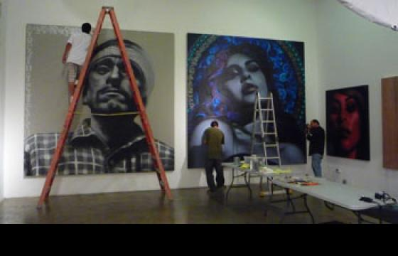 First Look: Mac and Retna Prep for Solo Show in LA