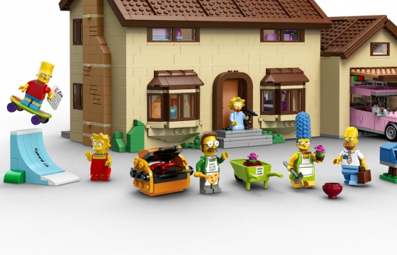 "LEGO ""The Simpsons"" House Set"