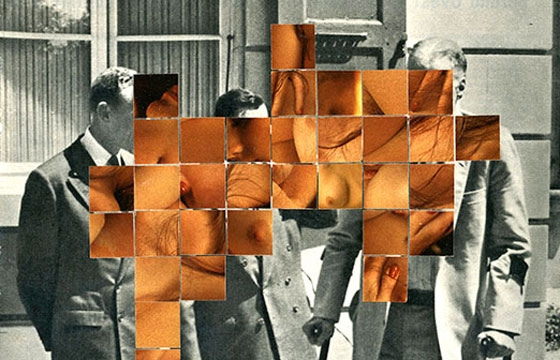 Arbër Marra's Provocative Collages