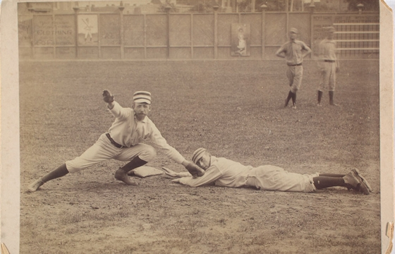 Vintage Photos From Baseball's Early Days