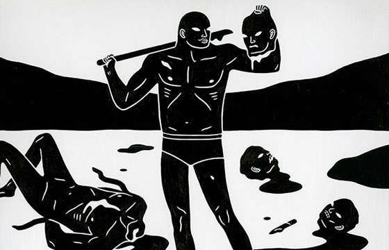 "Cleon Peterson ""End of Days"" @ New Image Art, Los Angeles"