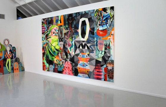 "IN L.A.: TIM BISKUP'S ""CHARGE"" @ MARTHA OTERO GALLERY"