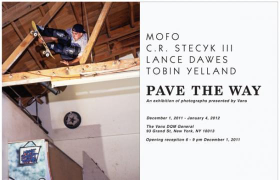 Opening: Pave the Way @ The Vans DQM General, NYC