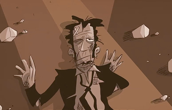 An Animated Interview with Tom Waits