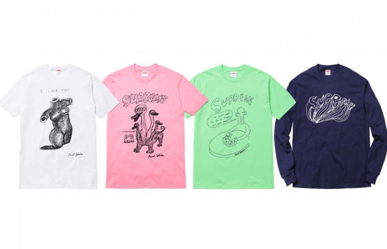 Daniel Johnston for Supreme 2015