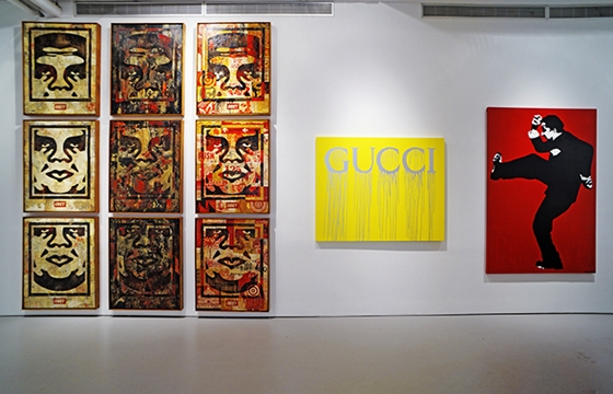"Last Days to See ""10 Years of Wooster Collective"" @ Jonathan LeVine Gallery, NYC"