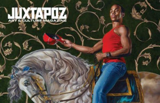 Hello 2010: January Cover Features Kehinde Wiley