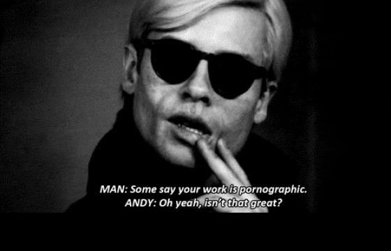 Andy Warhol for Jux Erotica